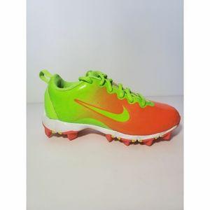 Nike hyperdiamond 2keystone girls Softball size 13
